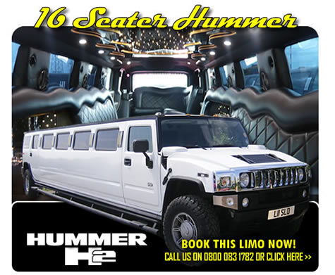 Stretched Hummer With COIF Certificate